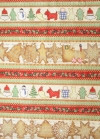 Cookie Cutter Horizontal Fabric