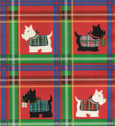 Scottie Christmas Wrapping Paper