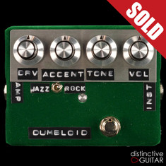 Shin's Music / Dumbloid Special Overdrive Light Green Velvet