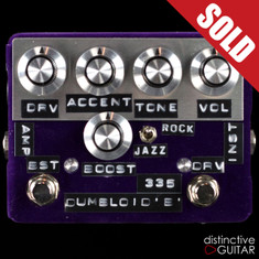 Shin's Music / Dumbloid Effects 335 w/ Boost Overdrive Purple Velvet