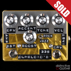 Shin's Music / Dumbloid Effects 335 w/ Boost Overdrive Gold Scratch