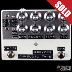 Shin's Music / Dumbloid Twin 2-Channel Overdrive White Hammer