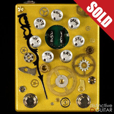 Zvex Fuzz Factory 7 Hand Painted Steampunk B176