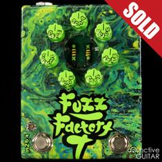 Zvex Fuzz Factory 7 Hand Painted Swirl B147
