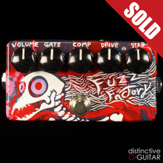 Zvex Fuzz Factory Custom Swirl Paint M084