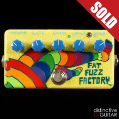 Zvex Fat Fuzz Factory Custom Swirl Paint B101
