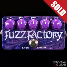 Zvex Fuzz Factory Custom One-Off Paint M108