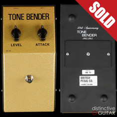 British Pedal Company 50th Anniversary Limited Edition MKI Tone Bender Fuzz Gold