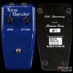 British Pedal Company Limited Edition Brittania OC75 MK1.5 Tone Bender Brit Blue