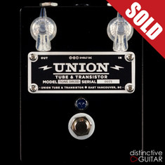 Union Tube & Transistor Tone Druid Overdrive Black