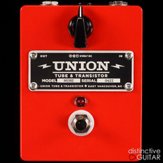 Union Tube & Transistor More Clean Boost Red