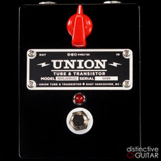 Union Tube & Transistor Beelzebub Fuzz Black