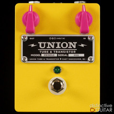 Union Tube & Transistor Swindle Distortion Yellow