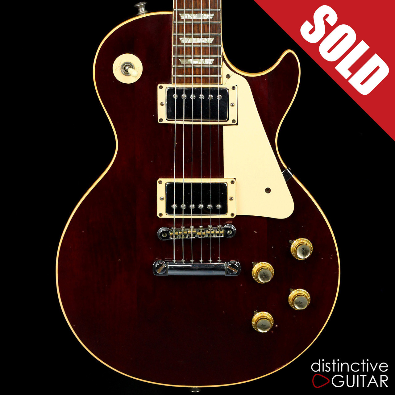 1975 gibson les paul deluxe wine red Gibson Les Paul Deluxe 1973 1975 gibson les paul deluxe wine red image 1 image 1