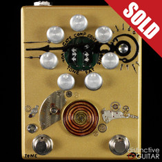 Zvex Fuzz Factory 7 Hand Painted Steampunk C009