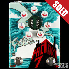 Zvex Fuzz Factory 7 20th Anniversary Custom Painted C108