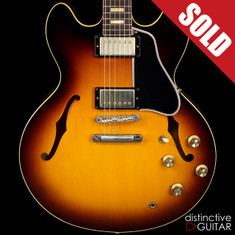 Gibson Custom Shop ES-335 1963 Reissue Historic Sunburst