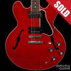 Gibson Memphis Custom Shop ES-335 Dot Cherry