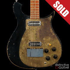 Rare 1960 Rickenbacker Model 450 Combo Black