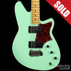 Reverend Descent H90 Baritone Oceanside Green