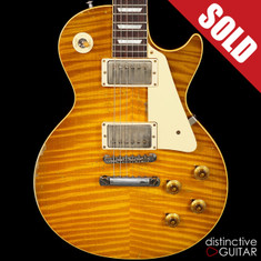 Gibson Custom Shop Les Paul Ace Frehley Signature 1959 Reissue Aged Lemonburst
