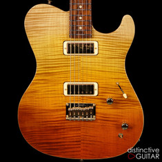 Melancon Classic Artist T Flame Top Sunset Fade