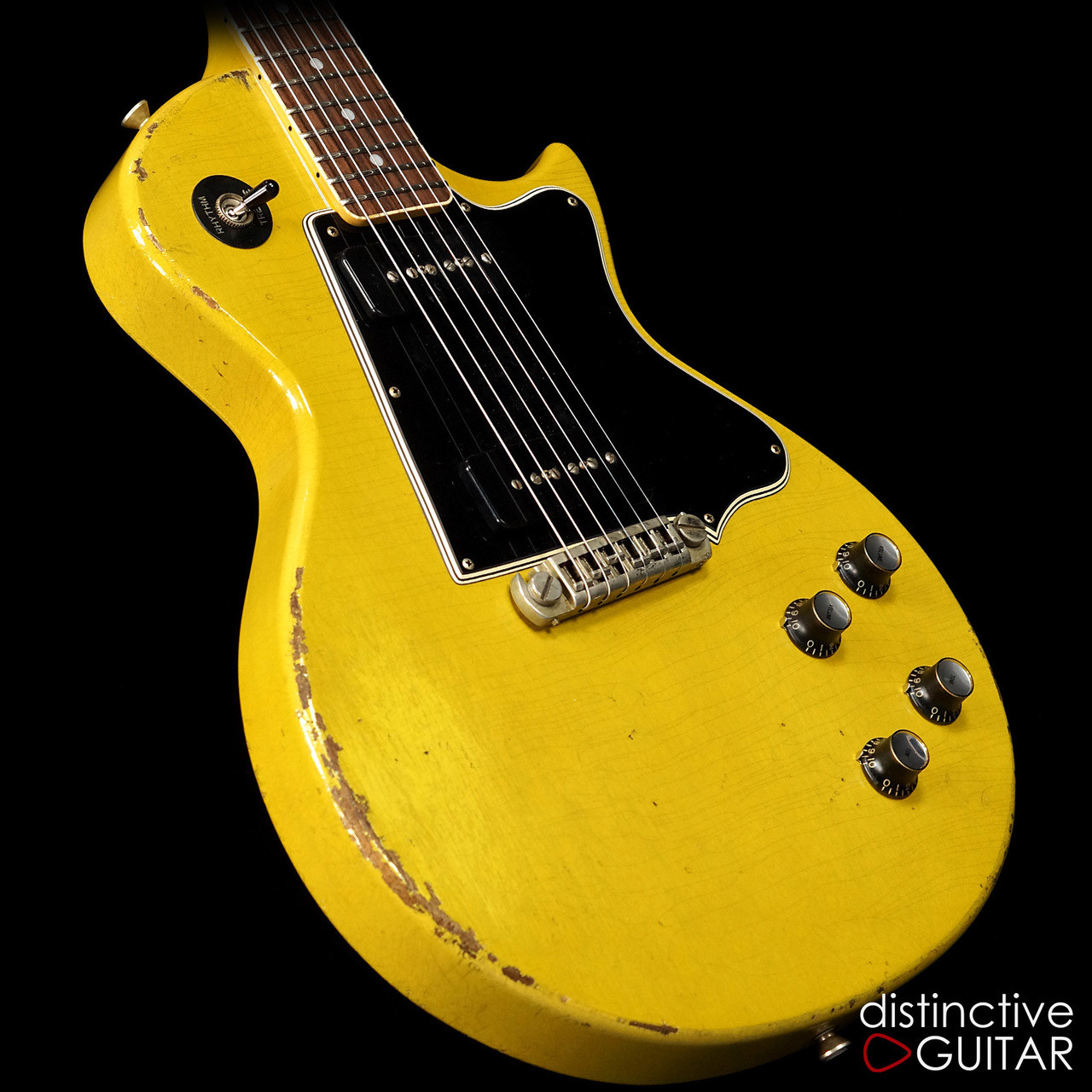 Rock N Roll Relics Heartbreaker Thunders Ii Singlecut Tv Yellow