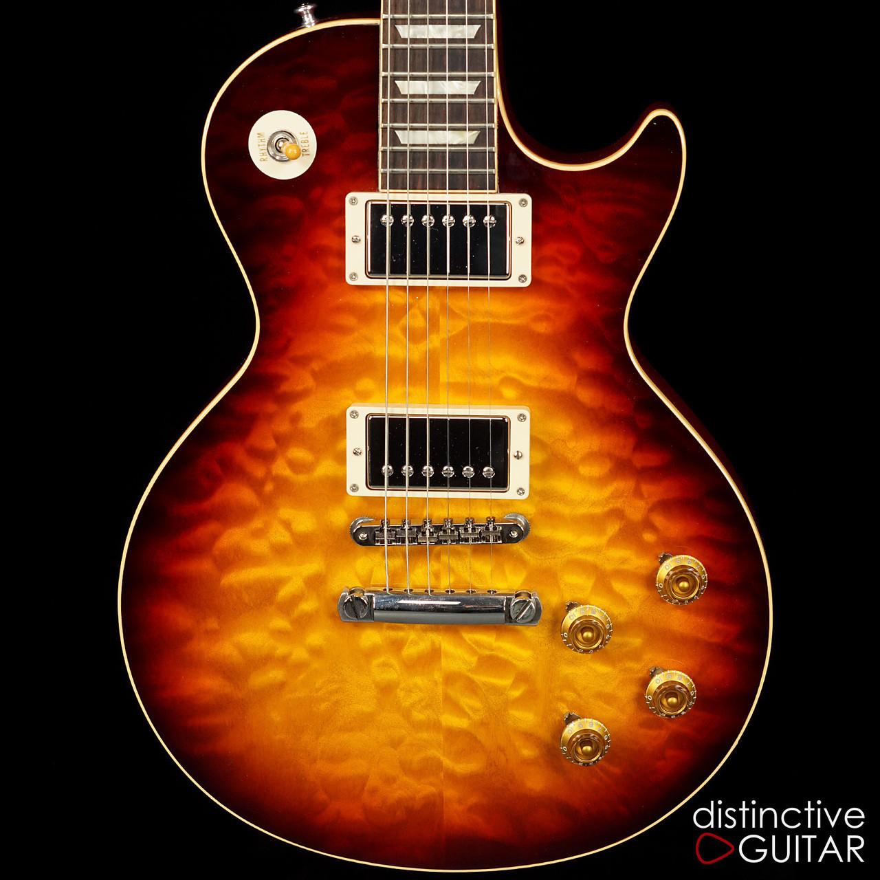 c08977913cd Gibson Custom Shop Les Paul 1959 Reissue Bourbon Burst Quilt