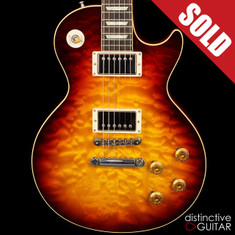 Gibson Custom Shop Les Paul 1959 Reissue Bourbon Burst Quilt
