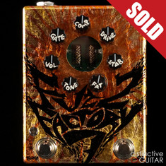 Zvex Fuzz Factory 7 NAMM Show Limited Edition Hand Painted C060