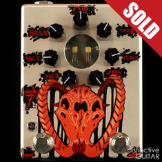 Zvex Woolly Mammoth 7 Fuzz NAMM Custom Hand Painted A080