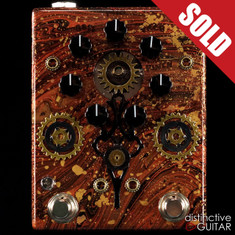Zvex Woolly Mammoth 7 Fuzz NAMM Custom Hand Painted A065