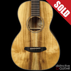 Breedlove Oregon Parlor Limited Natural Myrtlewood