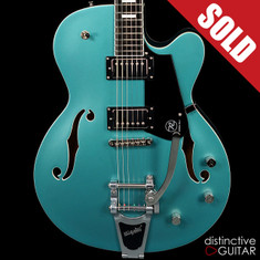 Reverend Pete Anderson Sig. PA-1 HB Hollowbody Deep Sea Blue