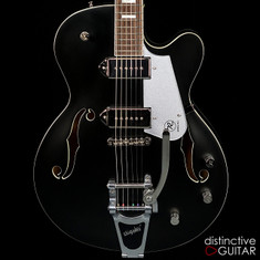 Reverend Pete Anderson Sig. PA-1 P90 Hollowbody Satin Black