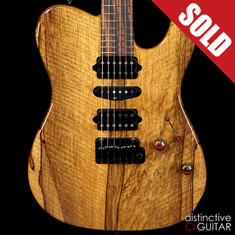 Suhr Modern T Black Limba Natural 30177
