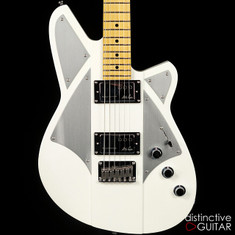 Reverend Billy Corgan Signature Satin Pearl White