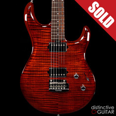 Ernie Ball Music Man Luke III HH BFR Hazel Burst