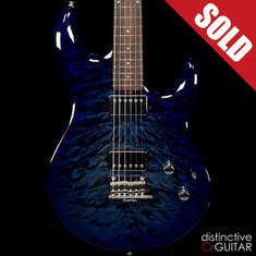 Ernie Ball Music Man Luke III HH BFR Blueberry Burst