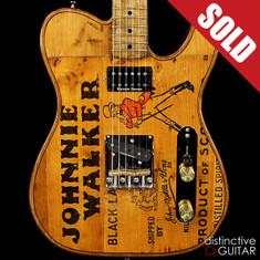 Walla Walla T-Top Vintage Wood Johnnie Walker