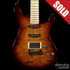 Fibenare Roadmaster FB Tom Quayle Signature Flame Maple Tobacco Burst