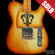Palir Titan NAMM Relic Tele Honey Burst