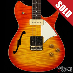 Fano Alt de Facto RB6 Thinline Faded Cherry Burst