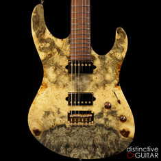 Suhr Modern Custom Set Neck Buckeye Burl Natural Gloss 28835
