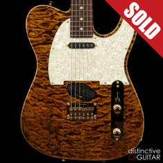 Tom Anderson Drop T Classic Tiger Eye Quilt