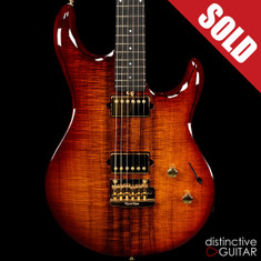 Ernie Ball Music Man Luke III BFR Koa Island Burst