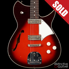 Fano Alt de Facto RB6 Thinline Red Burst Light Relic
