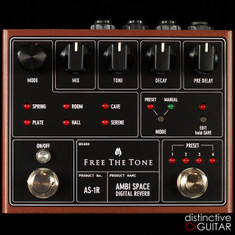 Free The Tone Ambi Space Reverb AS-1R Brown Metallic