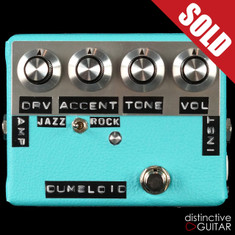 Shin's Music Dumbloid Special Overdrive Pedal  Light Blue Tolex