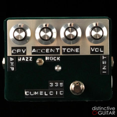 Shin's Music Dumbloid 335 Overdrive Dark Green Velvet